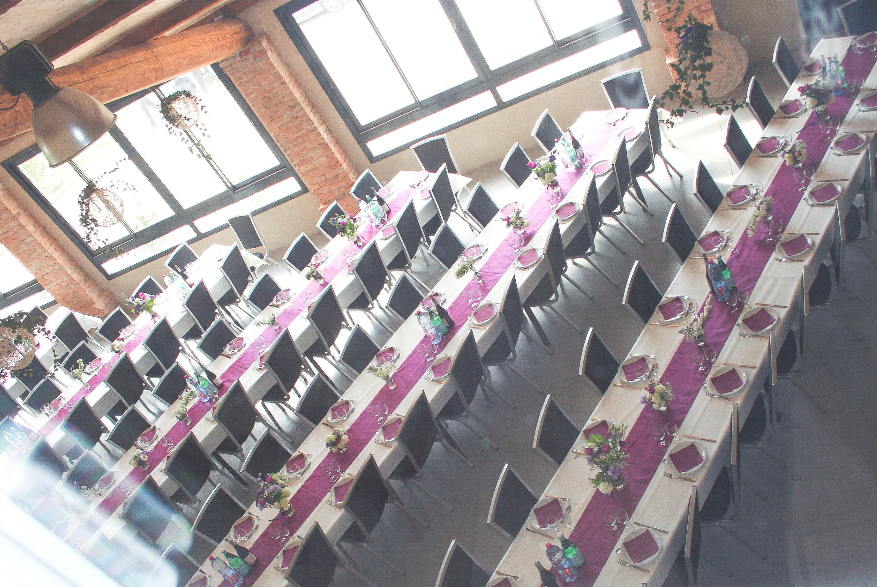 Domaine le grenouillet les espaces de r ception - Disposition table mariage ...