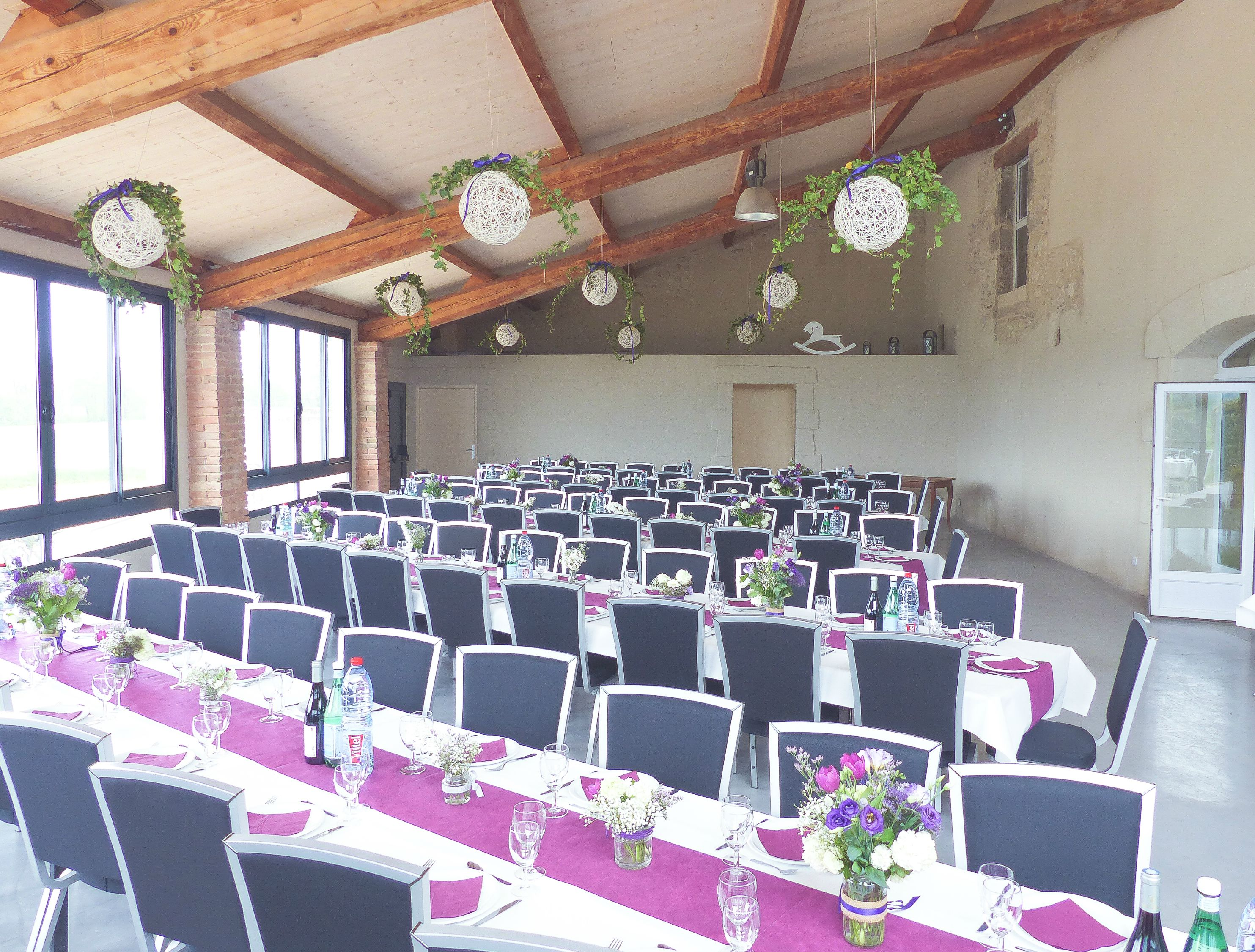 Disposition table mariage pour 70 personnes ustensiles - Comment disposer les tables pour un mariage ...
